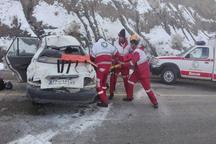 13 فقره تصادف جاده ای در خراسان جنوبی رخ داد