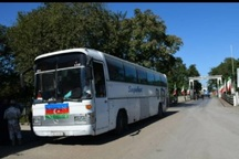 زائران جمهوری آذربایجان از قزوین راهی کربلا شدند