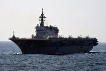 تشدید تنش ها در شبه جزیره کره/ بزرگترین ناو جنگی ژاپن هم اعزام شد