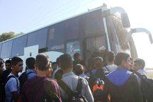 چهار هزار دانش آموز اراکی به مناطق عملیاتی دفاع مقدس اعزام شدند