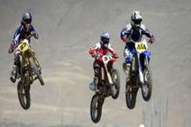 رقابتهای موتورکراس کشور با قهرمانی خراسان رضوی پایان یافت