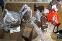 52 کیلوگرم تریاک از بار سنگ در گرمدره کشف شد