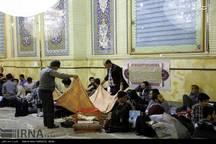 آیین معنوی اعتکاف در 160 مسجد لرستان آغاز شد