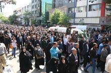 تصاویر | پیکر حجتالاسلام حسنی امام جمعه فقید ارومیه تشییع شد