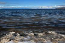 دریاچه ارومیه 30 سانتی متر افزایش تراز دارد