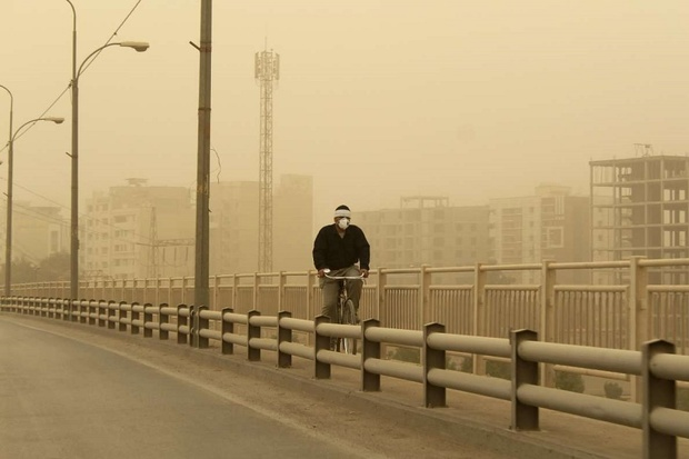توده جدید گرد و خاک در راه خوزستان است
