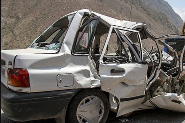 حادثه رانندگی در مسیر خنداب یک کشته و چهار مجروح داشت