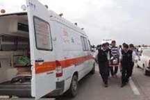 تصادف منجر به مصدومیت 9 نفر در جاده کرج- چالوس