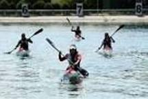 حضور چهار بانوی گیلانی در اردوی تیم ملی قایقرانی جوانان