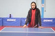 نوجوان مهابادی به مسابقات تنیس روی میز باکو دعوت شد