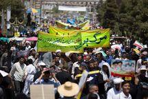 راهپیمایی روز قدس قم از میدان آستانه تا مصلی برگزار می شود