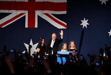 پیروزی غیرمنتظره حزب حاکم بر استرالیا