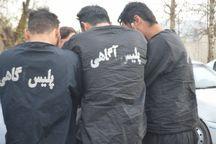 سارقان حرفه ای اماکن خصوصی در ارومیه دستگیر شدند