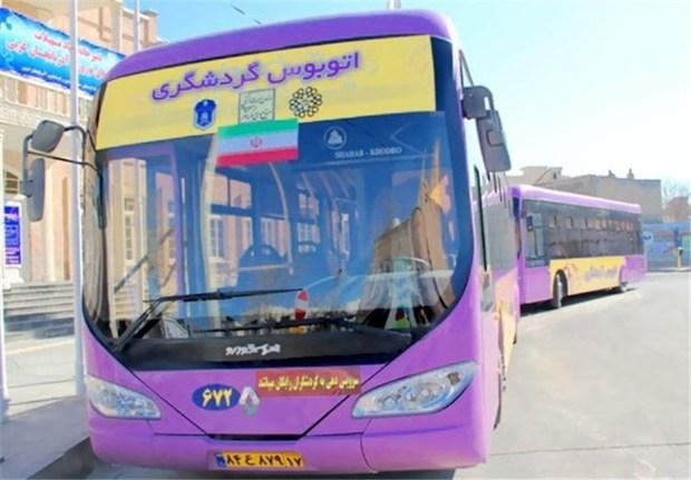 اتوبوس گردشگری نوروزی در خوی راهاندازی شد