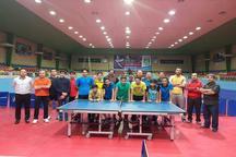 آغاز مسابقات  تنیس روی میز نوجوانان و جوانان کشور در قزوین