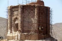 مرحله دوم مرمت برج بزرگ سمیران آغاز شد