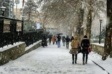 سرما تا انتهای هفته مهمان همدانی ها است