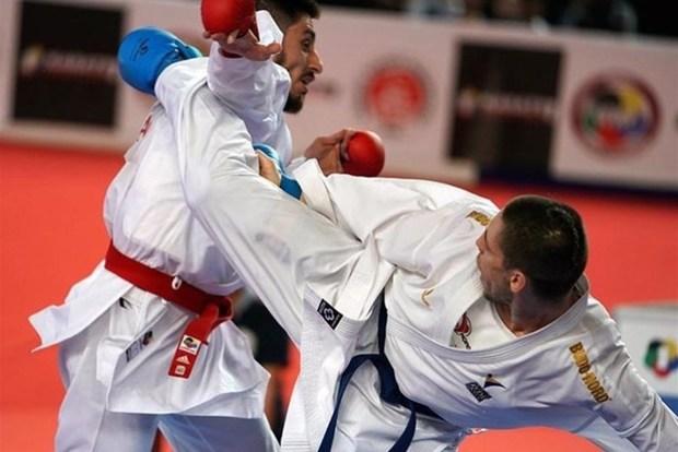 مسابقات کاراته قهرمانی کشور در همدان آغاز شد