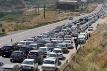 چهار محور در خوزستان با ترافیک سنگین رو به رو هستند
