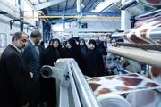 بازدید مشاور وزیر کشور از 2 واحد تولیدی در قزوین