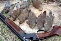 دستگیری پنج شکارچی متخلف در مازندران