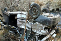 واژگونی پراید در زنجان 2 کشته و 2 مصدوم برجا گذاشت