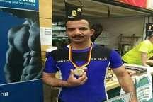 حضور وزنه بردار استان در المپیک پیشکسوتان جهان
