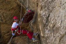 زوج تهرانی گرفتار در تنگه شیرز کوهدشت نجات یافتند