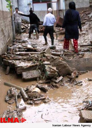 امدادرسانی به بیش از 170 آسیب دیده سیلاب در خراسان رضوی