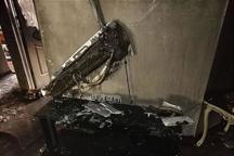 آتش سوزی ساختمان مسکونی در تهران 8 مصدوم داشت