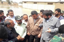 استاندار خوزستان : خسارت ناشی از سیل جبران می شود