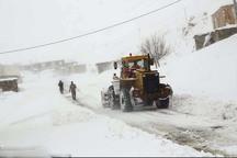 راه ارتباطی 40 روستای کردستان مسدود است