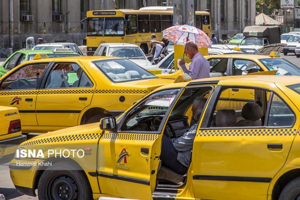 خودروهای فرسوده بزرگترین مشکل ناوگان تاکسیرانی