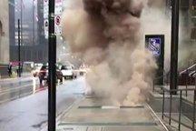 انفجار زیرزمینی در منطقه اقتصادی تورنتو