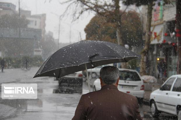 پایان هفته پربارش در انتظار آذربایجانغربی