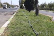 تجهیز بیش از 50 هکتار از اراضی فضای سبز ارومیه به آبیاری نوین قطرهای و هوشمند