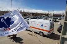 عملیات اجرایی 10 مرکز فوریت های پزشکی در همدان آغاز شد