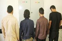 سارقان موتورسیکلت در عنبرآباد دستگیر شدند