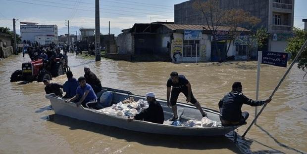 کاروان کمک های مردمی خلخال راهی مناطق سیل زده شمال کشور شد