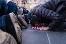 اعتراض ها علیه ترامپ ادامه دارد+ تصاویر