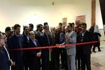 نمایشگاه خوشنویسی و نقاشی در مهاباد افتتاح شد