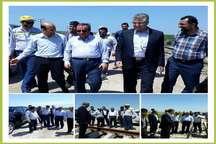 نگاه ویژه دولت به بخش ریلی  حمایت از اجرای خط آهن بندرگز- سبزدشت