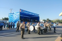 رژه نیروهای مسلح در دزفول برگزار شد