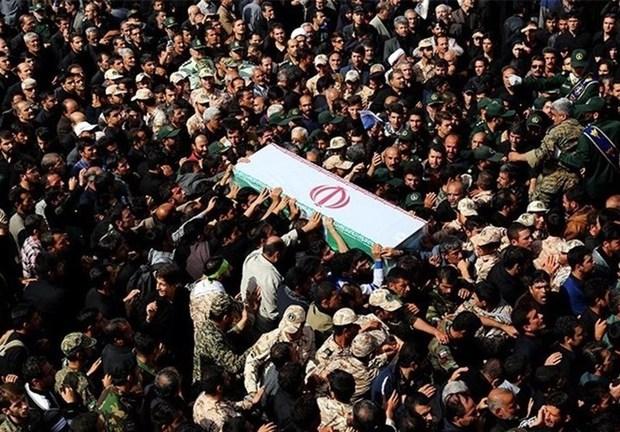 پیکر مرزبان شهید نیروی انتظامی در سبزوار تشییع شد