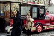 پیاده راه اکباتان صاحب قطار شهری می شود