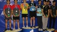 معرفی نفرات برتر مسابقات تنیس روی میز تور ایرانی نوجوانان پسر کشور در منطقه آزاد ارس