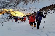 دوره کارآموزی برف و یخ در شهرستان مشگین شهر برگزار شد