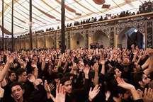مراسم اربعین حسینی در مسحدجامع کبیر یزد برگزار شد