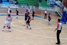 لیگ دسته اول کشور بسکتبال؛ پیروزی تیم گیلان برابر کردستان