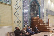 حضور وزیر ارشاد در درس اخلاق آیت الله جوادی آملی + تصویر